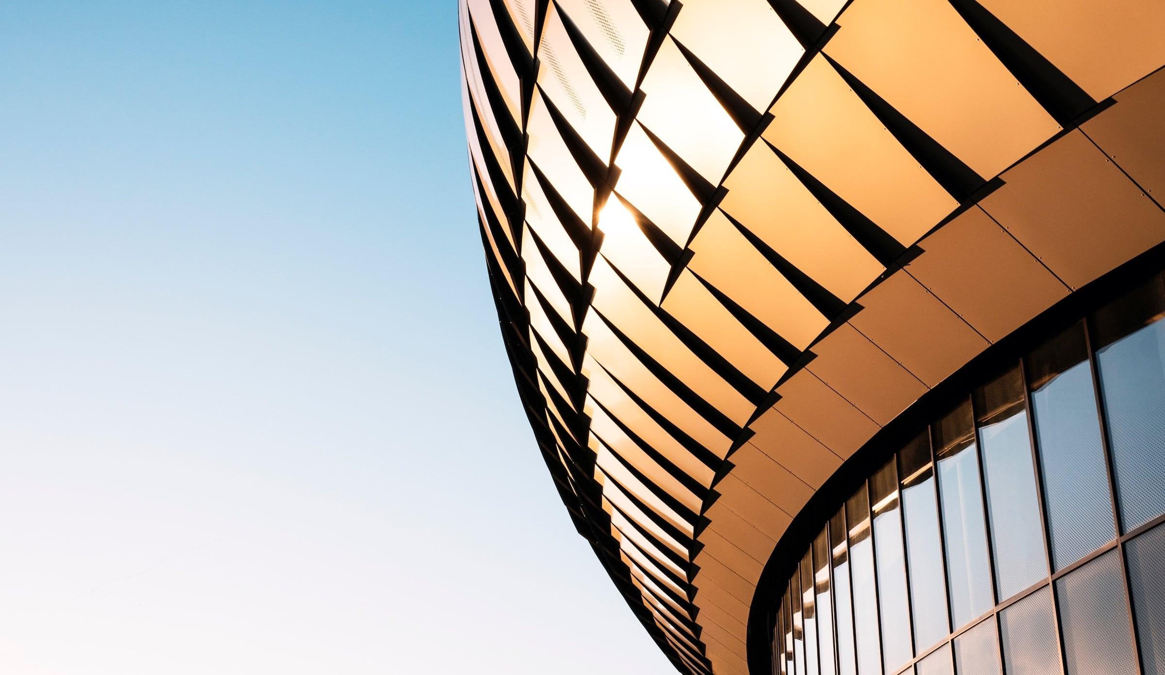 copper round building
